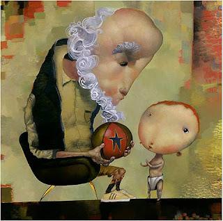 Auld Lang Syne - Joe Sorren painting