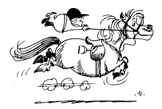 Thelwell pony