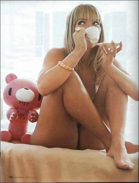 Quer tomar café com a minha amiguinha ?