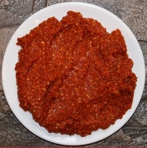 how to make harissa spice blend