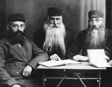 Scholars at Torah Study