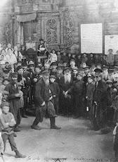 Jewish celebration in Ghetto