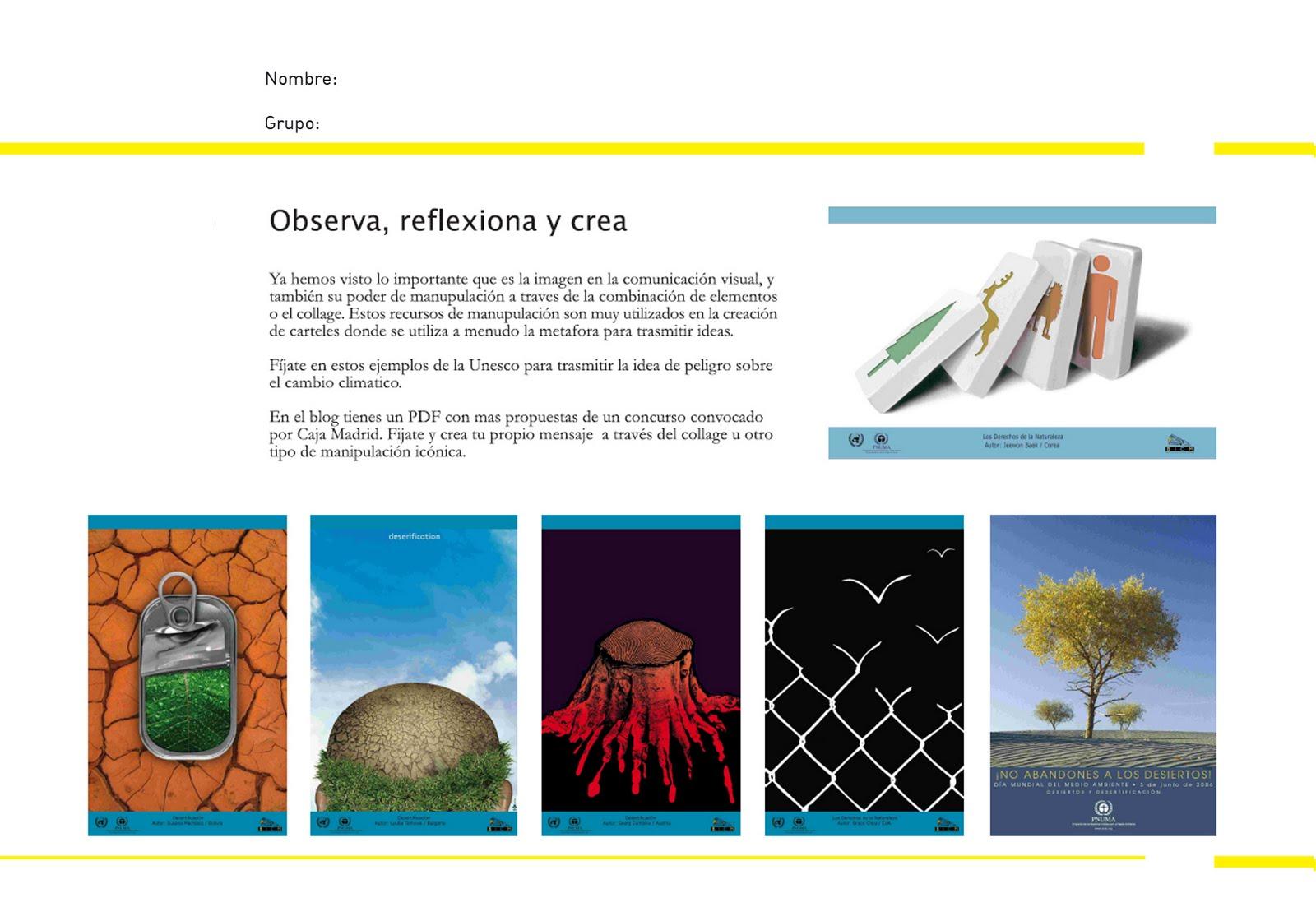 El Blog de Educación Plástica y Visual: ACTIVIDADES