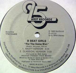 B-beat Girls - For The Same Man 12 Inch