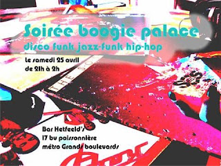 Soire BOOGIE PALACE # 3