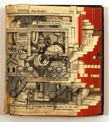 craziest Book sculpture