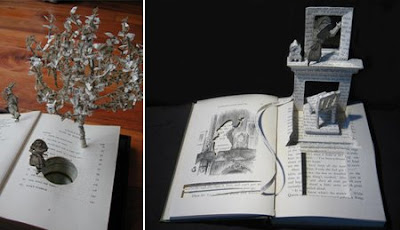 cool Book Sculptures