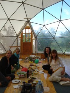 Abschiedsessen 12.12.2010 barbara, Christine, Jaqueline, Susanne
