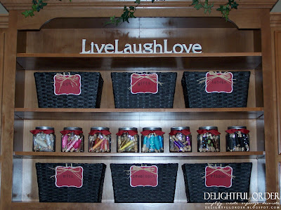 Delightful order craft room basket organizing for Cheap kitchen storage ideas