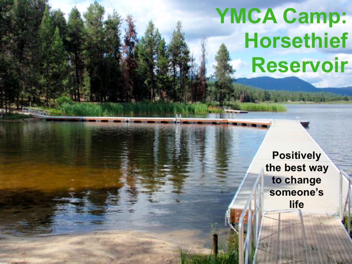 YMCA Camp: Horsethief Reservoir