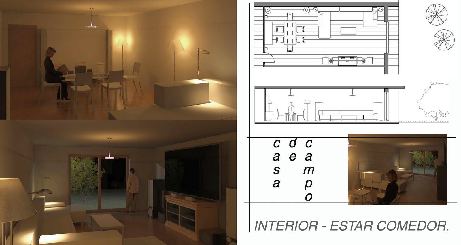 Arquitectura casa de campo for Casa de campo arquitectura