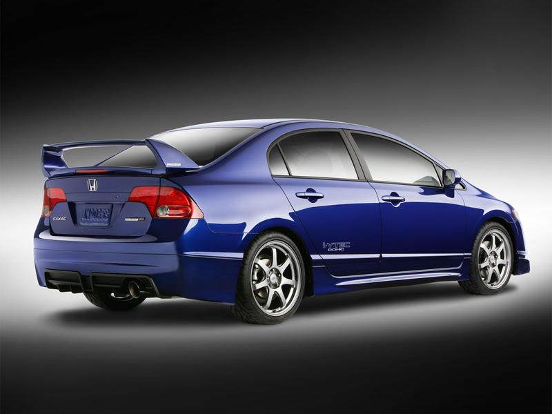 2008 honda cars civic mugen si sedan. Black Bedroom Furniture Sets. Home Design Ideas