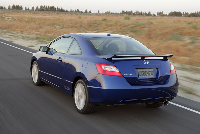 2007 Honda Civic Si Specifications Chassis Brakes F/R: ABS, Vented  Disc/disc. Tires F R: 215/45 R17 Driveline: Front Wheel Drive Engine Type:  Inline 4