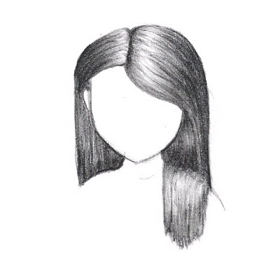 How To Draw Hair Use flowing lines  and draw in