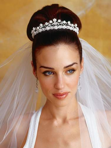 Quite often brides have chosen wedding hairstyles