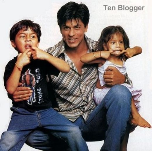 Shahrukh Khan Kids Room
