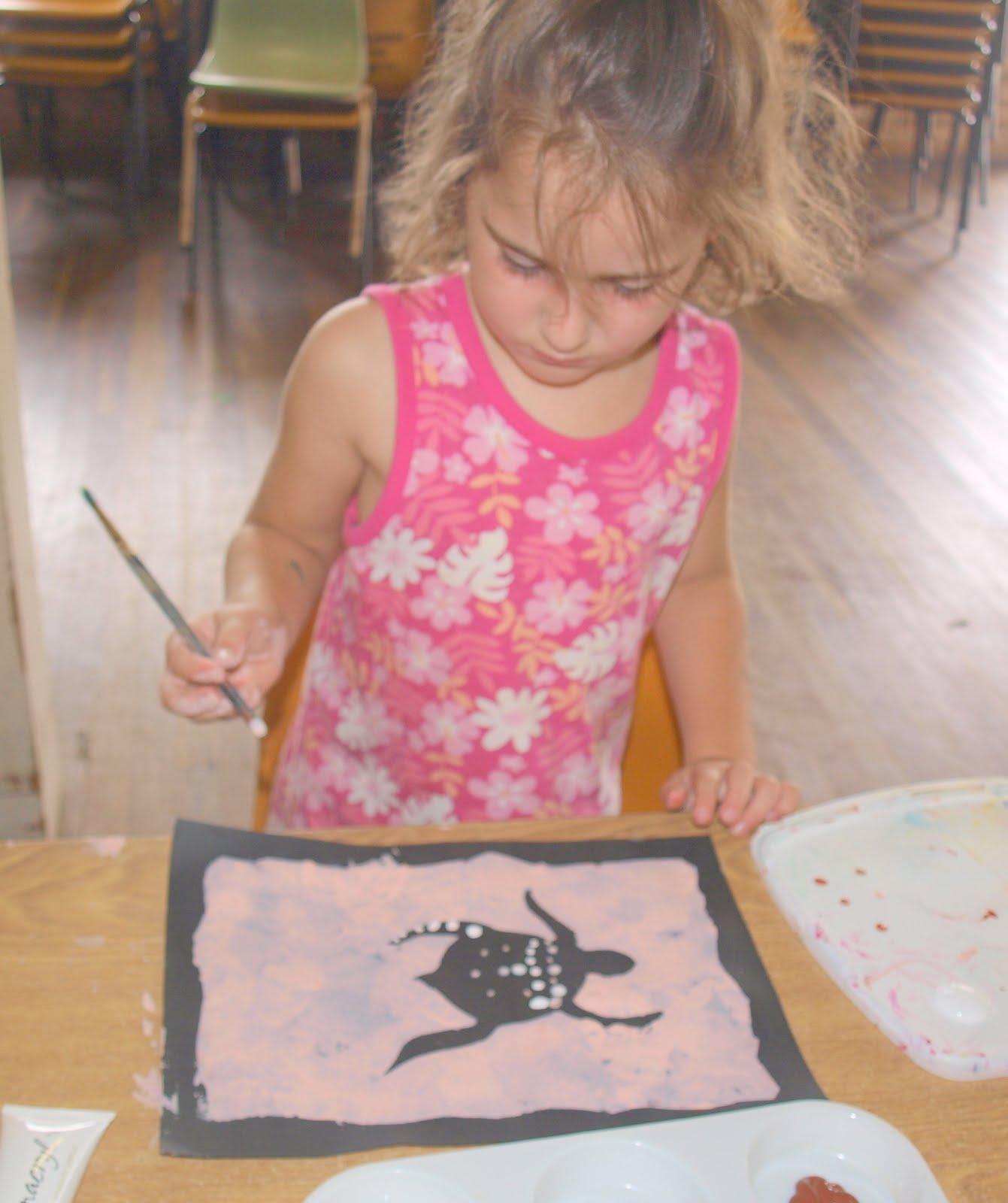 Aboriginal Dot Painting