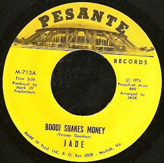 Jade Boodi Shakes Money Paper Man