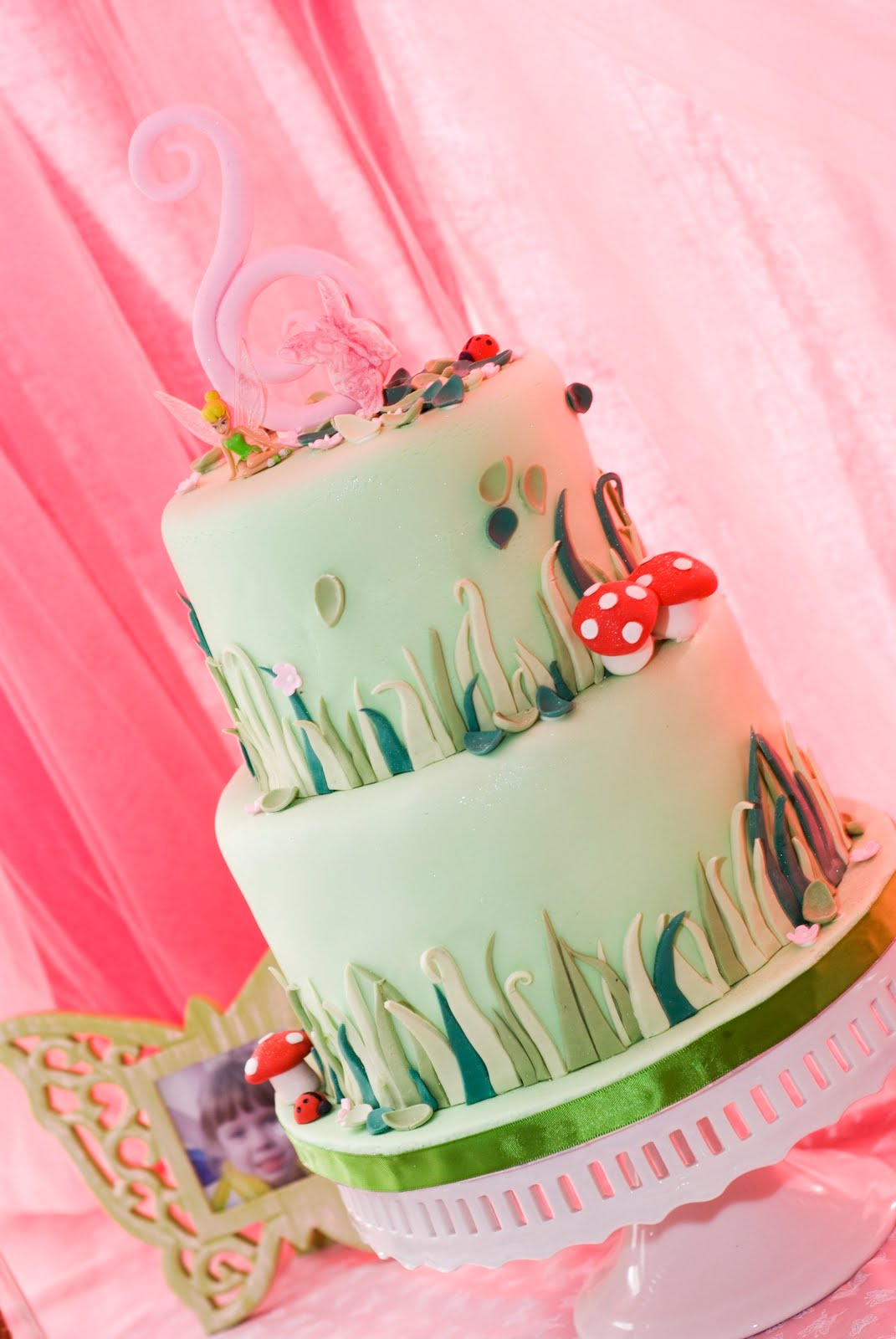 Candy and cake welcome to pixie hollow janelle 39 s 6th for Fairy cakes