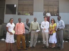 Interns and Teachers at Mtoni