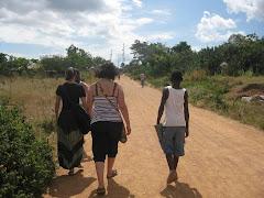 Walking in Bughora with Kasmil