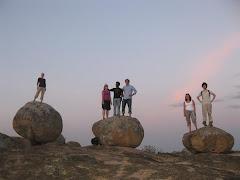 Standing ontop of Dancing Rocks