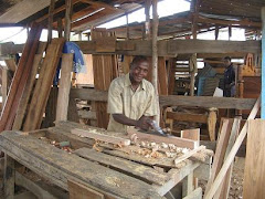 Carpenter Making Buswelu Desks