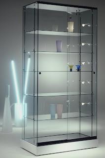 V i t r i n a s midigrup incorpora a su gama de vitrinas - Vitrinas de cristal para colecciones ...