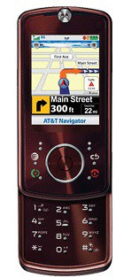 Motorola's Z9 with GPS