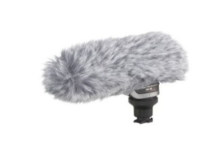 Canon 2591B002 DM-100 Directional Stereo Microphone for HF/HG Series Camcorders