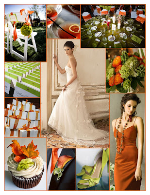 Good morning everyone and welcome to a Weekend Wedding in Green Orange
