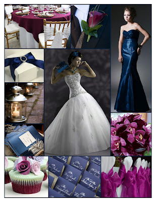 Good morning everyone and welcome to a Weekend Wedding in Dark Blue