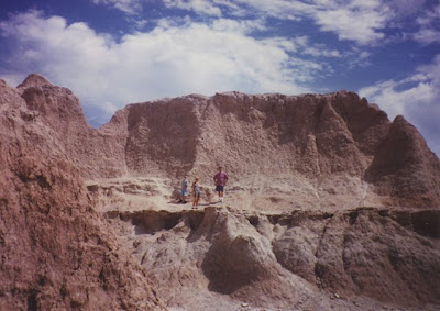 Annieinaustin, Badlands in 1990's