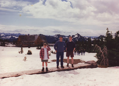 Annieinaustin, MT Rainier snow