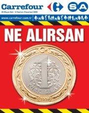 CARREFOURSA NE ALIRSAN 1 TL ÜRÜNLERİ