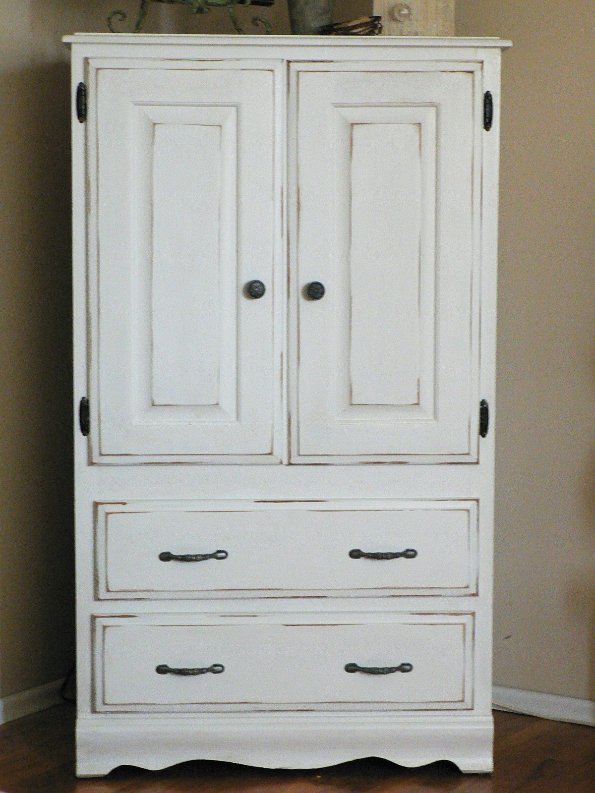For The Love Of It Armoire Redo And Finds
