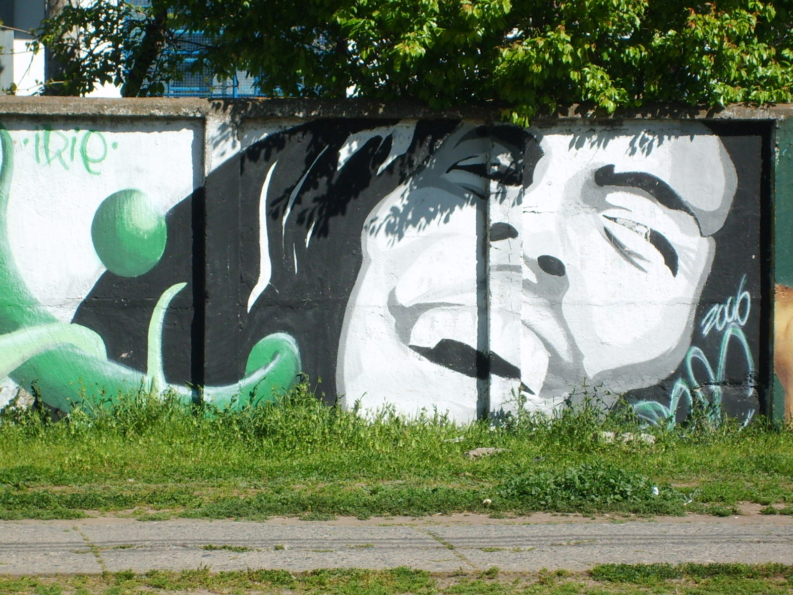 Bob Marley - Graffiti de Kuriko