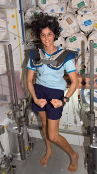 sunny williams space station - photo #4
