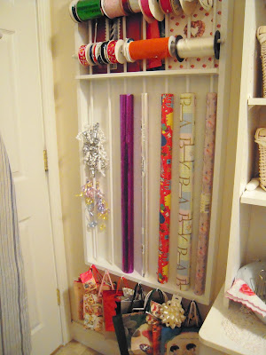 How to build a gift wrapping station