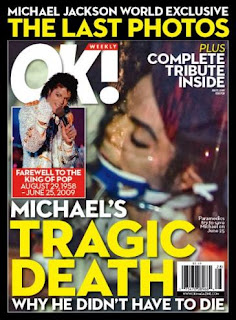 The OK magazine Michael Jackson cover picture is so controversial.
