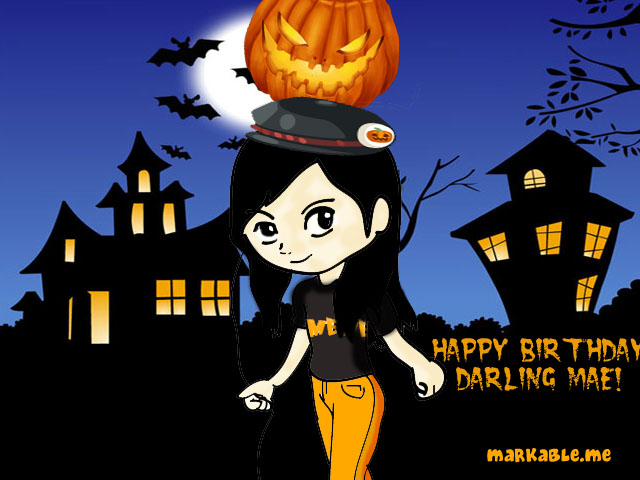 Happy Birthday to My Dearest Halloween Girl Cousin, Darling! - The ...