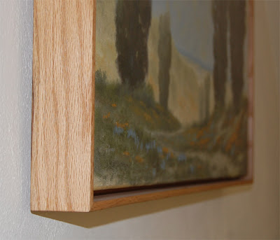 Ron Guthrie Art: Build an Oak Floater Frame