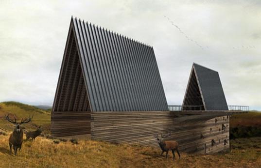 A r c h i m a f i a ark house sustainable citadel in the for Modern house ark