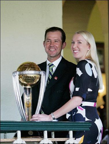 Ponting Wife Rianna Worldcup Photos of Cricketers Wifes : Cricketers Wives and Girl Friend Pics,Images