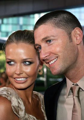 Michael Clarke Girlfriend Lara Bingle 010308 Photos of Cricketers Wifes : Cricketers Wives and Girl Friend Pics,Images