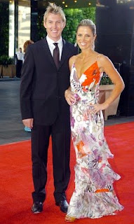 brett lee and his wife Photos of Cricketers Wifes : Cricketers Wives and Girl Friend Pics,Images