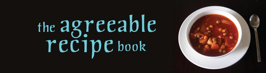 the agreeable recipe book