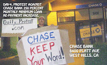 DAY-4, CHASE BANK PROTEST