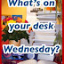 SASSY BLOG MEME: What's on your desk Wednesday? (17th June)