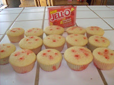 Jello Poke Cupcakes